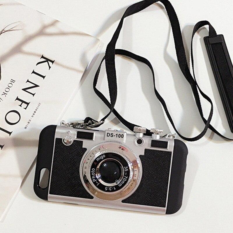 Чехлы Эмили в Париже для iPhone 11 12 Pro MAX X XS XR SE 2020 для iPhone 7 8 6 6S SE Plus 3D Ретро камера Lanyard Caso|Специальные чехлы| | АлиЭкспресс - Трендовые вещи из сериала «Эмили в Париже»