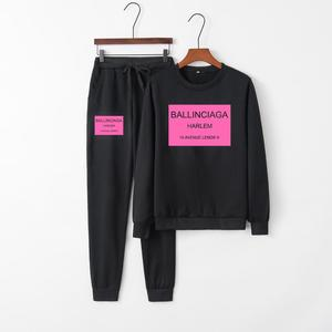Image 3 - XUANSHOW Women Outfit Sportswear Spring Autumn Winter Printed Letters Ladies Fleece Tracksuits Long sleeve Casual 2 Piece Set