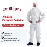 בטיחות מגן ביגוד מגן סרבל יוניסקס חד פעמי מפעל Workwear בידוד מגן hazmat חליפה-בבגדי בטיחות מתוך אבטחה והגנה באתר
