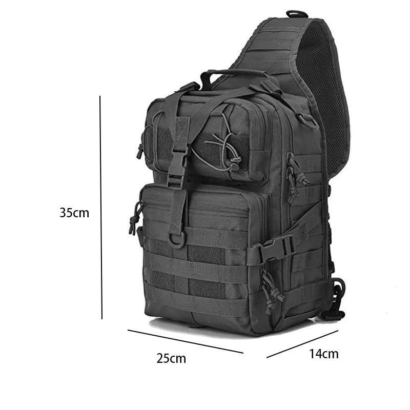 20L Tactical Assault Pack Military Sling Backpack Army Molle Waterproof EDC Rucksack Bag for Outdoor Hiking Camping Hunting