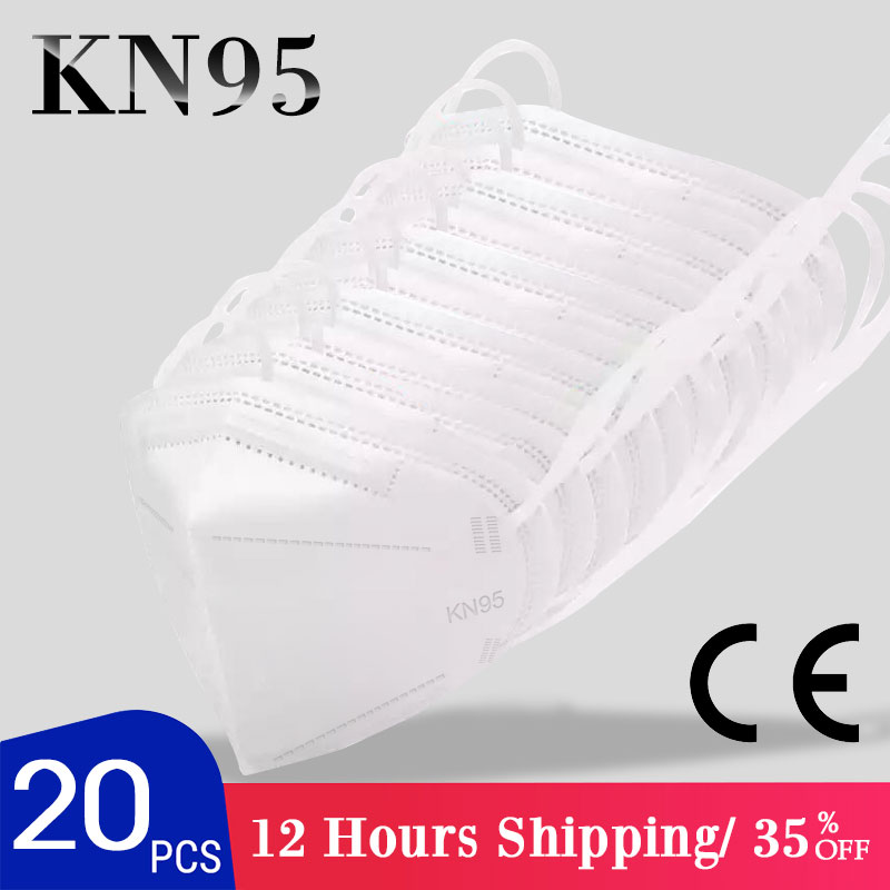 Fast Delivery Hot Sale KN95 Dustproof Anti-fog And Breathable Face Masks N95 Mouth Mask 95% Filtration Features As KF94 FFP2