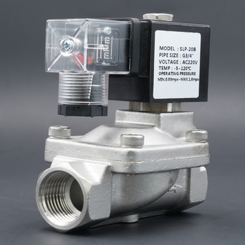 valve,Solenoid Valve, water valve, N.C High temperature valve, Stainless steel high pressure Pilot Diaphragm,110V 220V 12V 24V цена 2017