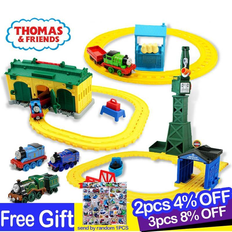 Thomas And Friends Train Track Components Diecast 1:18 Train Track Set  Car Toys For Boys Children Gifts Accessories  Playset