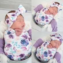 2 шт хлопковые пеленки для новорожденных с мешком сна