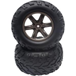2 PCS RC Car Tire ZJ01 Accesso
