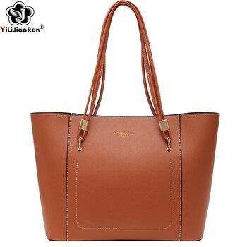 Fashion Handbags for Women Large Capacity Pu Leather Handbag Luxury Brand Ladies Tote Hand Bags New Elegant Shoulder Bag Female