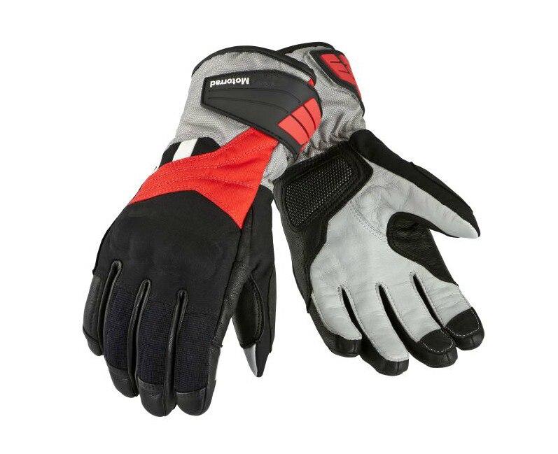 Motorrad GS suche długie skórzane rękawiczki Motocross Street Moto konna rękawice motocyklowe czarny czerwony