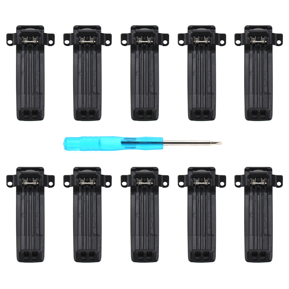 10X Replacement Belt Clip For Baofeng UV-82 UV-82L UV-8D UV-89 UV-82HP UV-82HX