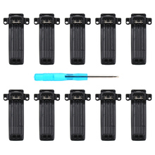 цены 10X Replacement Belt Clip for Baofeng UV-82 UV-82L UV-8D UV-89 UV-82HP UV-82HX
