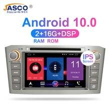 RAM Android 10.0 Xe Ô Tô DVD Stereo Đa Phương Tiện Headunit Dành Cho Xe Toyota Avensis/T25 2003 2008 Tự Động Phát Thanh Đồng Hồ Định Vị GPS video Âm Thanh