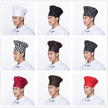 Chef-Hat Workwear Food-Service-Cap Bakery Catering Hotel Kitchen Restaurant Canteen Elastic