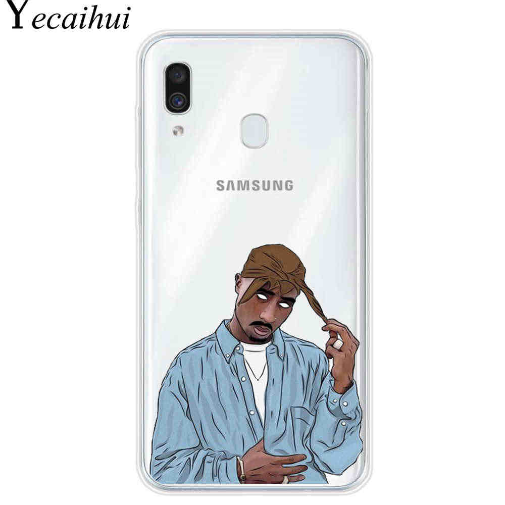 2Pac Makaveli Tupac Amaru Shakur Phone Cover For Coque Samsung Galaxy A10 A20 A30 A40 A50 A60 A70 A80 2019 A6 A8 A7 A9 2018 case