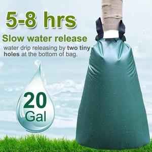 Трудосберегающий мешок для полива деревьев 15 галлонов капельного орошения мешок с молнией