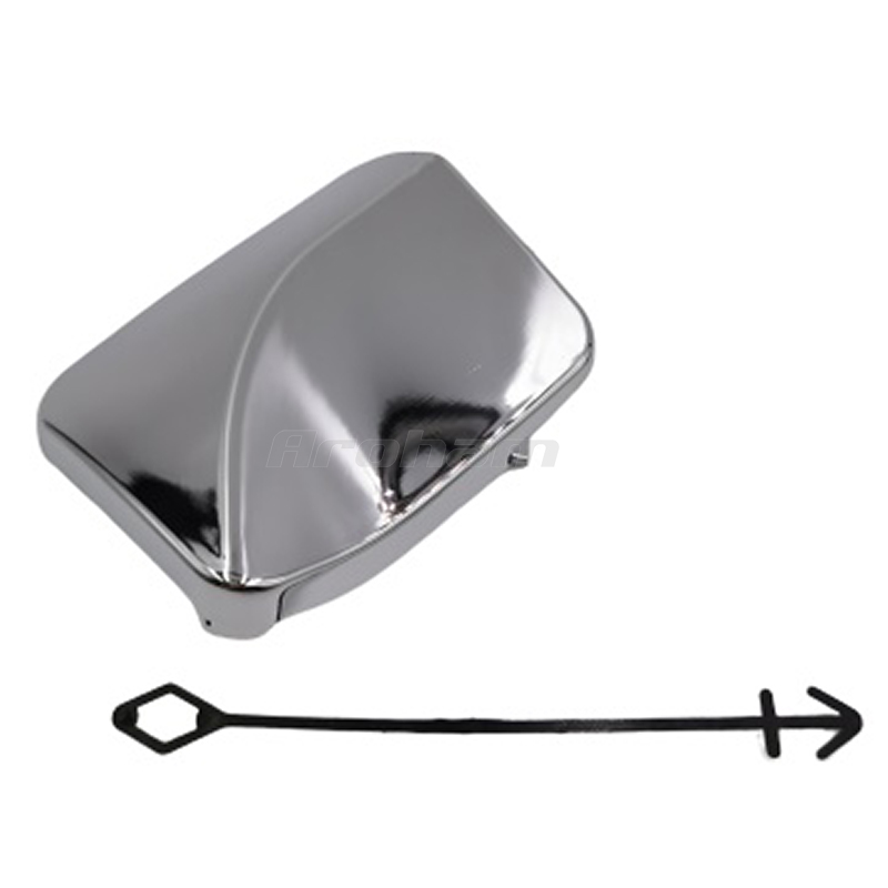 NEW GENUINE MERCEDES BENZ MB ML W166 FRONT BUMPER TOW HOOK EYE CHROME COVER