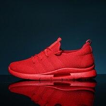 Men Casual Shoes Lightweight Air Mesh Unisex Sneakers Men Tr