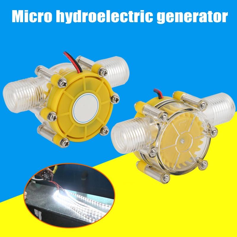 1 шт. микро гидроэлектрический генератор 12 В Stabilivolt 10 Вт Мощность гидравлического преобразования MU8669