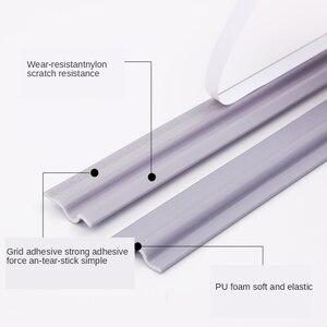 Image 2 - Zelfklevende Raam Afdichting Strip Geluiddichte En Winddicht Nylon Doek Schuim Deur Weer Rubber Strip Voor Schuiframen