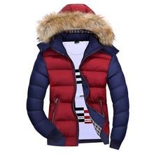 Winter Jacket Men Thick Men Parkas 2019 Mens Fur Hood Coat Casual Warm Jackets Outwear Top Male Overcoat Abrigo Hombre