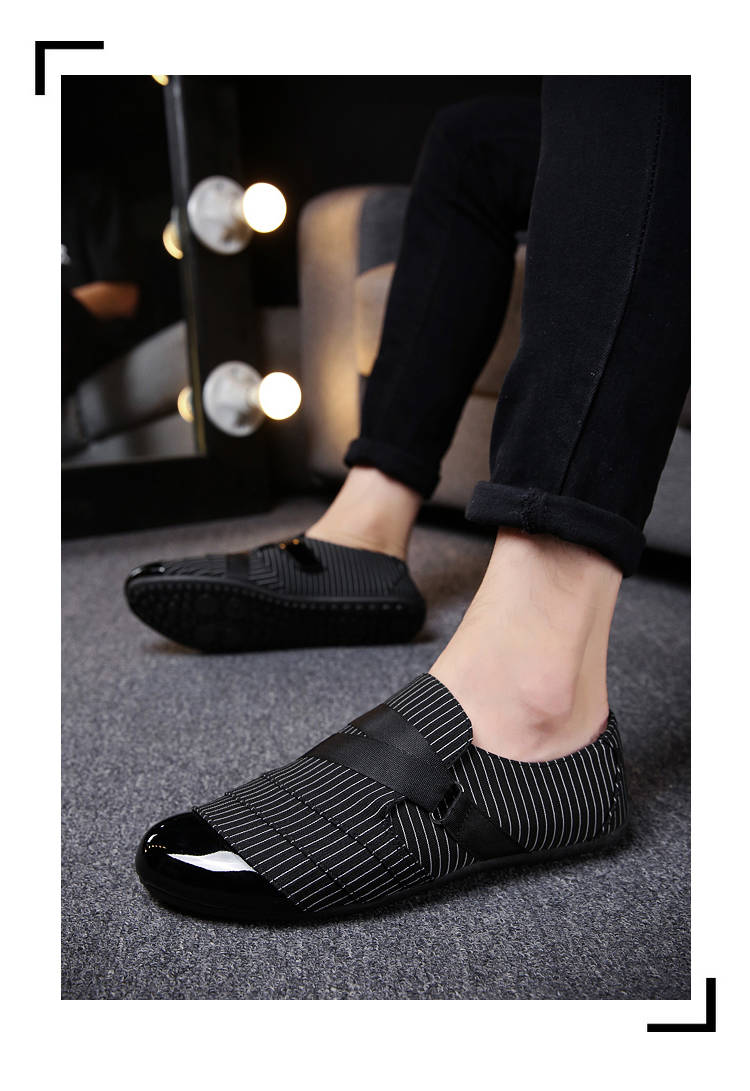 Men's Vanta Stripe Loafers