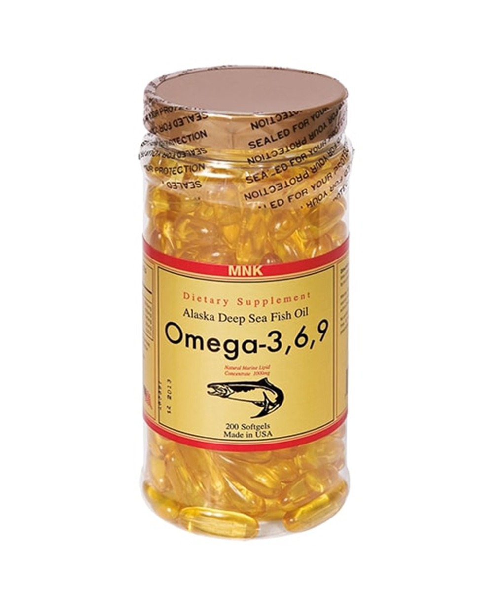 MNK Omega 3,6,9 Fish Oil Softgel 200