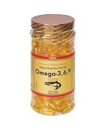 MNK Omega 3,6,9 Olio di Pesce Softgel 200