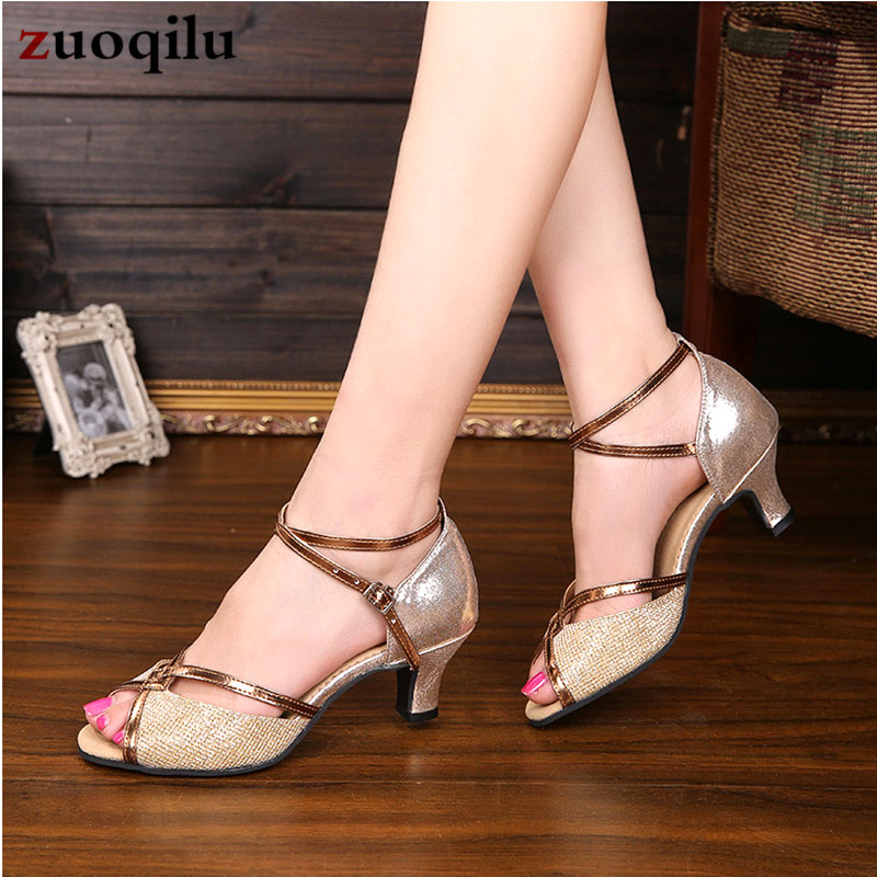 2019 High Heels Gold Silver Pumps Women Shoes Party Wedding Shoes Bride Shoes With Heels Ladies Shoes Chaussure Femme Talon