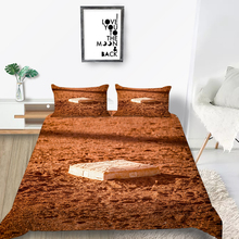 Baseball Bedding Set Single Simple 3D Fashionable