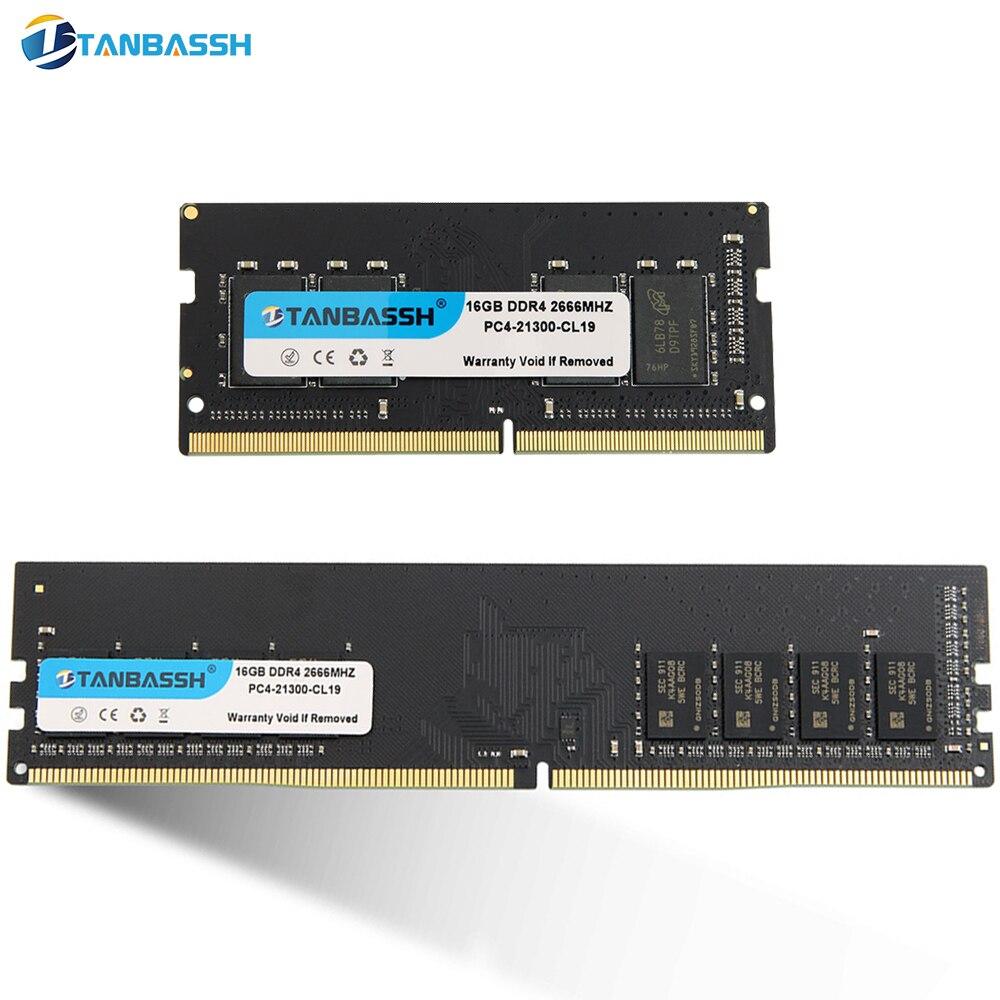 Оперативная память для ноутбука, ОЗУ для настольного компьютера, тип DDR4, объем памяти-8 ГБ/16 ГБ, частота-2133 МГц/2400 МГц/2666 МГц/1,2 в, высокая произ...