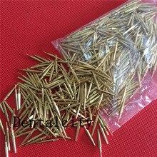 1000 adet yeni diş #3 orta LAB pirinç dübel çubuk pimleri