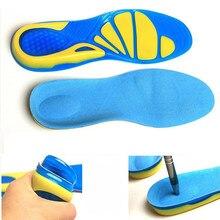 1 пара Ортопедические Стельки Arch силиконовые гелевые стельки для ухода за ногами Нескользящие амортизирующие подушечки для обуви для мужчи...