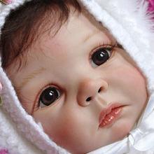 NPK 21 cal zestaw części ciała do lalek Reborn niedokończone lalki części Daphne przez Elly Knoops miłość twarz duże oczy dziecko