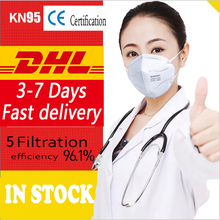 KN95 10 pcs Dust proof Anti-fog And Breathable Face Masks 95% Filtration N95 Cotton Unisex Muffle FFP2 CE certification N95 mask