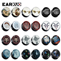 EARKUO Trendy Design Hand In Hand Sheep Head Camera Acrylic Ear Gauges Tunnels Fashion Body Piercing Jewelry Ear Plugs Expanders