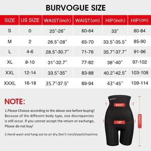 Image 4 - Burvogue גבוהה מותן בטן בקרת תחתוני הרזיה מותניים מאמן מרים התחת Shapewear חלק סקסי תחתוני גוף ומעצב תחתונים