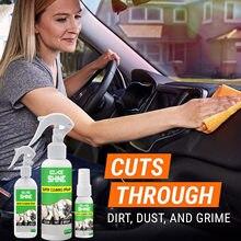 Revestimento interior do líquido de limpeza da cera do carro 256ml para carros & caminhão & motocicleta, painel plástico do carro do ultra brilho, líquido de limpeza do assento de couro