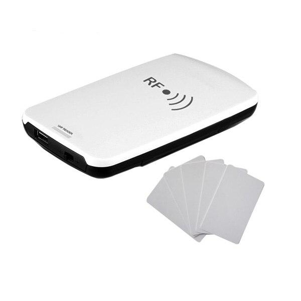 GEN2 USB портативный UHF RFID настольный считыватель писатель идентификация теги интегрированный считыватель
