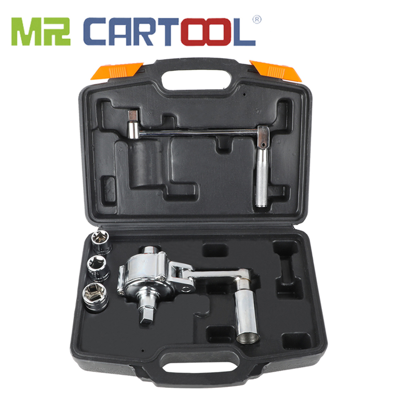"MR CARTOOL 1/2"" Torsional Torque Multiplier Wrench Lug Nut Remover Type Car Tire Disassembly Labor-Saving Force Wrench 3200N.M"