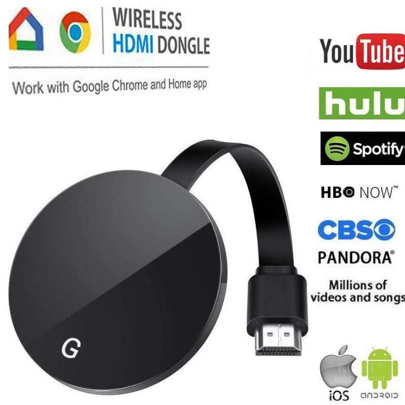 tv stick 5G Wireless wifi HDMI display for chromecast 3 2 miracast airplay DLNA dongle anycast for Google home chrome