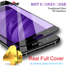 Onenine 4D Carving Tempered Glass for Xiaomi Mi 6 Full Cover Screen Protector 3D Curved 9H Toughened Film for Xiaomi Mi6 Plus