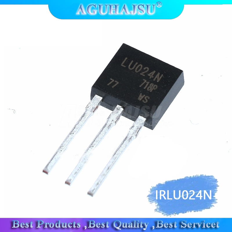 1PCS  IRLU024N 17A 55V TO-251 LR024N TO-252   Original
