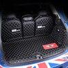 Tappetini Tronco auto Stuoie Tappeti in pelle Per BMW MINI COOPER S UN F54 F55 F56 F60 R60 CLUBMAN Interior styling decorazione accessori| |   -