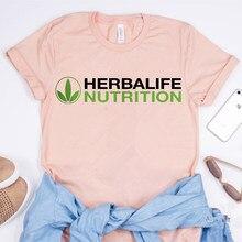 2021 femmes T-Shirt Style Décontracté Herbalife Nutrition Chemise Mignon Herbalife Chemises Ulzzang Tés Harajuku Haut Pour Femme Fille Tshirt