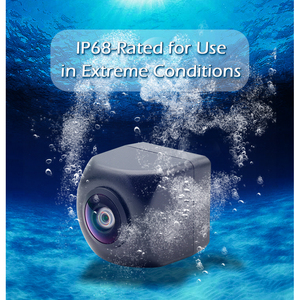 Image 5 - GreenYi cámara de visión frontal y lateral trasera para vehículo, CCD, Ojos de pez, visión nocturna, impermeable, IP68, cámara trasera Universal