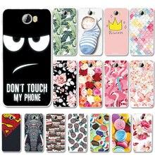 For Huawei Y5 2 Beautiful Various Phone Case II Y52 Capa Shell Flower Painted Back Cover Fundas Y5II