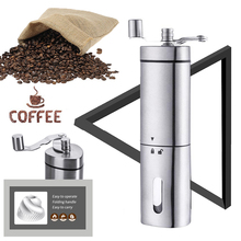 Coffee Mill High Quality Stainless Steel Hand Crank Grinding Conical Ceramic Coffee Grinder Manual Coffee Grinder Mill Dropship manual coffee grinder wood metal hand mill spice mill wood color