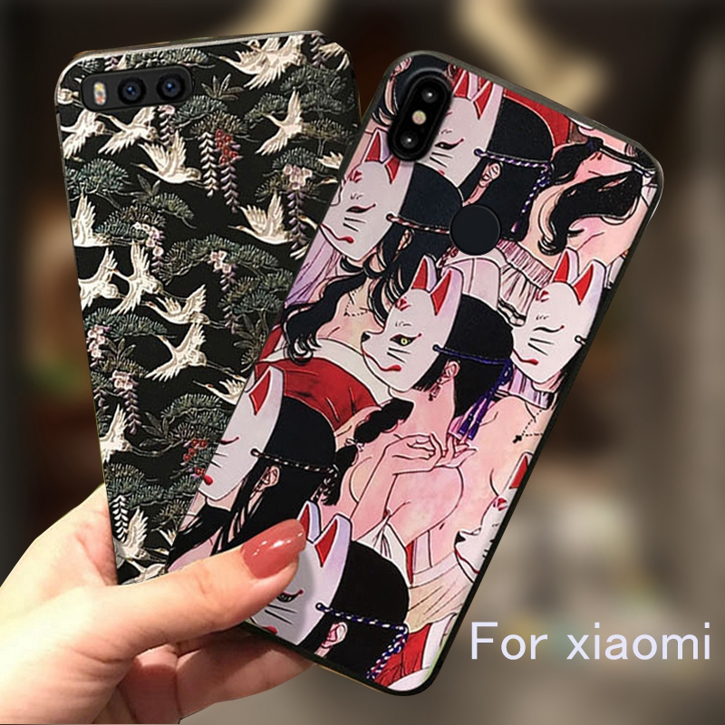 For <font><b>xiaomi</b></font> <font><b>redmi</b></font> <font><b>note</b></font> 8 <font><b>pro</b></font> Case <font><b>3D</b></font> Emboss Phone Case For <font><b>xiaomi</b></font> 9 9se 8 <font><b>se</b></font> lite mix3 mix2 s <font><b>note</b></font> <font><b>3</b></font> a1 a2 <font><b>redmi</b></font> 7a k20 <font><b>pro</b></font> Case image