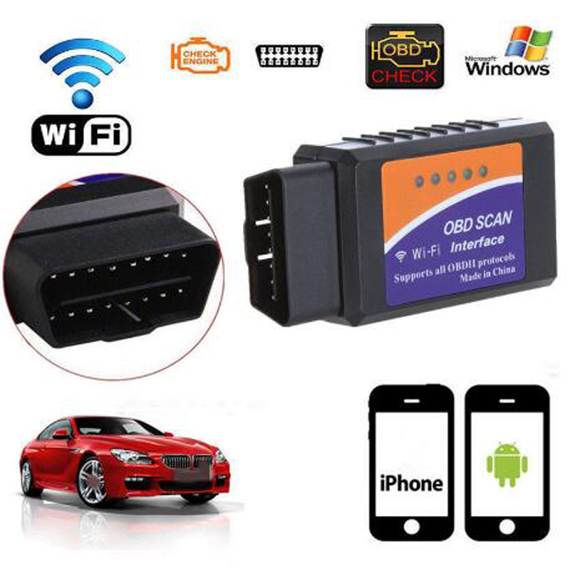 ELM327 V 1,5 Bluetooth/WIFI Für Android Diagnose Werkzeug mit PIC18F25K80 Chip ELM327 Bluetooth V 1,5 OBD2 Scanner