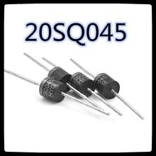 (10PCS) 20SQ045 20A 45V 태양 쇼트 키 다이오드 고전류 전용 고전력 R-6 새롭고 독창적 인