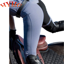 Rider-Equipments Riding-Pants Horseback Chaps Equestrian HYHG Silicon Black Blue White