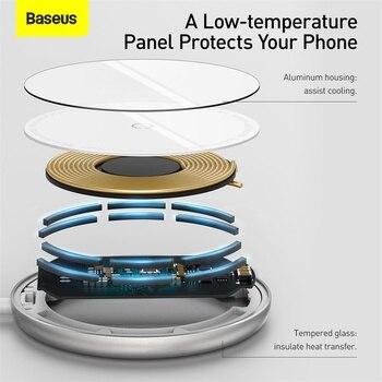 Baseus магнитное беспроводное зарядное устройство для iPhone 12 6